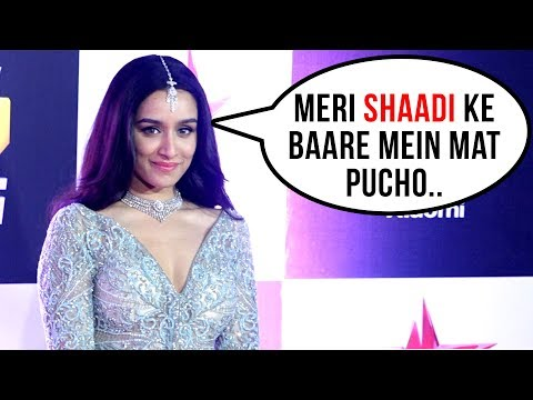 Shraddha Kapoor SHOCKING REACTION On Marriage | Star Screen Awards 2018