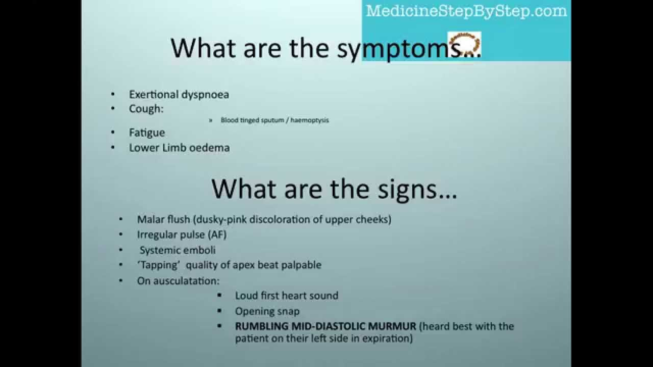aortic in adults of Symptoms stenosis