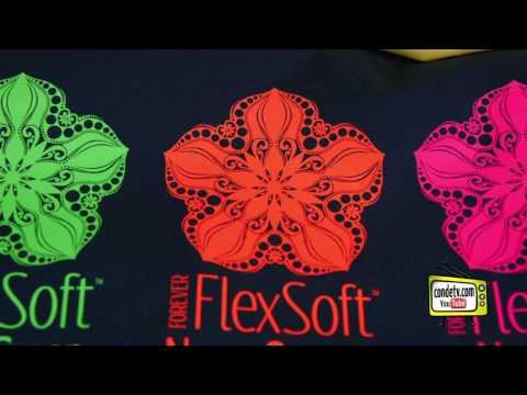 Conde's New Fluorescent Forever FlexSoft Laser Transfer Vinyl -