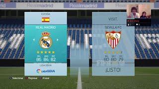 Video Gol Pertandingan Real Madrid vs Sevilla