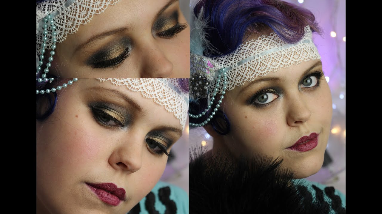 Authentic) 1920's Make-up Tutorial - YouTube