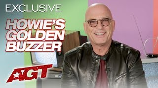 Golden Buzzer Hit! Howie Mandel Put His Foot Down For Joseph Allen - America's Got Talent 2019
