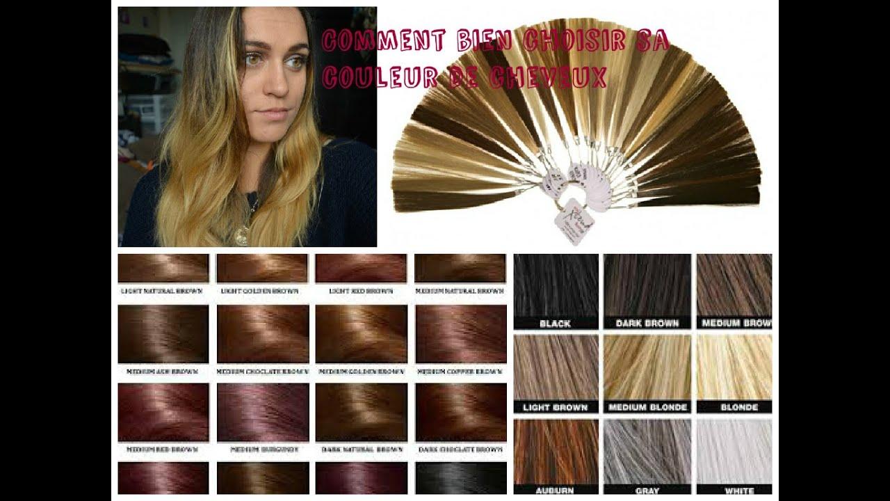 Choisir couleur cheveux avec sa photo