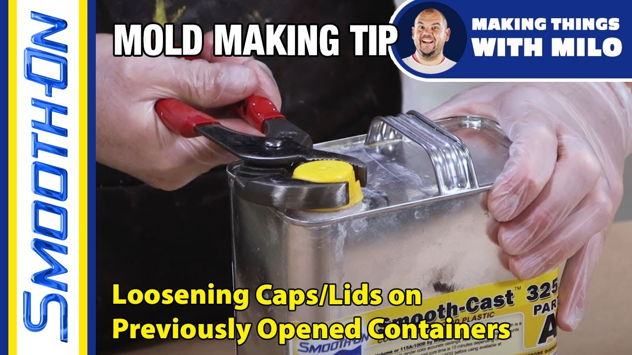 Moldmaking Tip: How To Open Stuck Caps or Lids on Previously Opened Containers