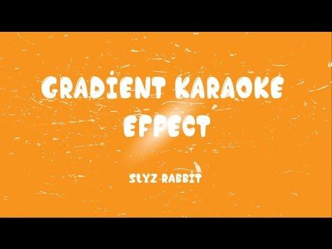 [Aegisub] Gradient Karaoke Effect [Tutorial]