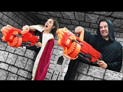 NERF Defend Your Castle Challenge! [Ep. 3]