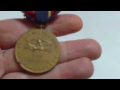 USA ARMY OF CUBA OCCUPATION MEDAL 1898-1902