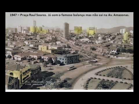 Fotos postais de Belo Horizonte de 1902 até 1982
