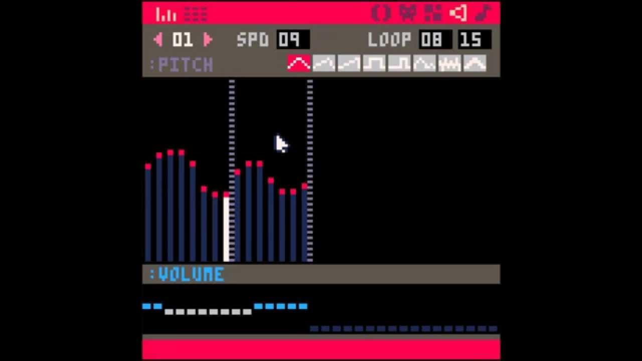 PICO-8 Audio: Waveform Editor - YouTube