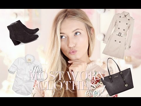 The 5 MOST WORN items in my wardrobe EVER! | Freddy My Love