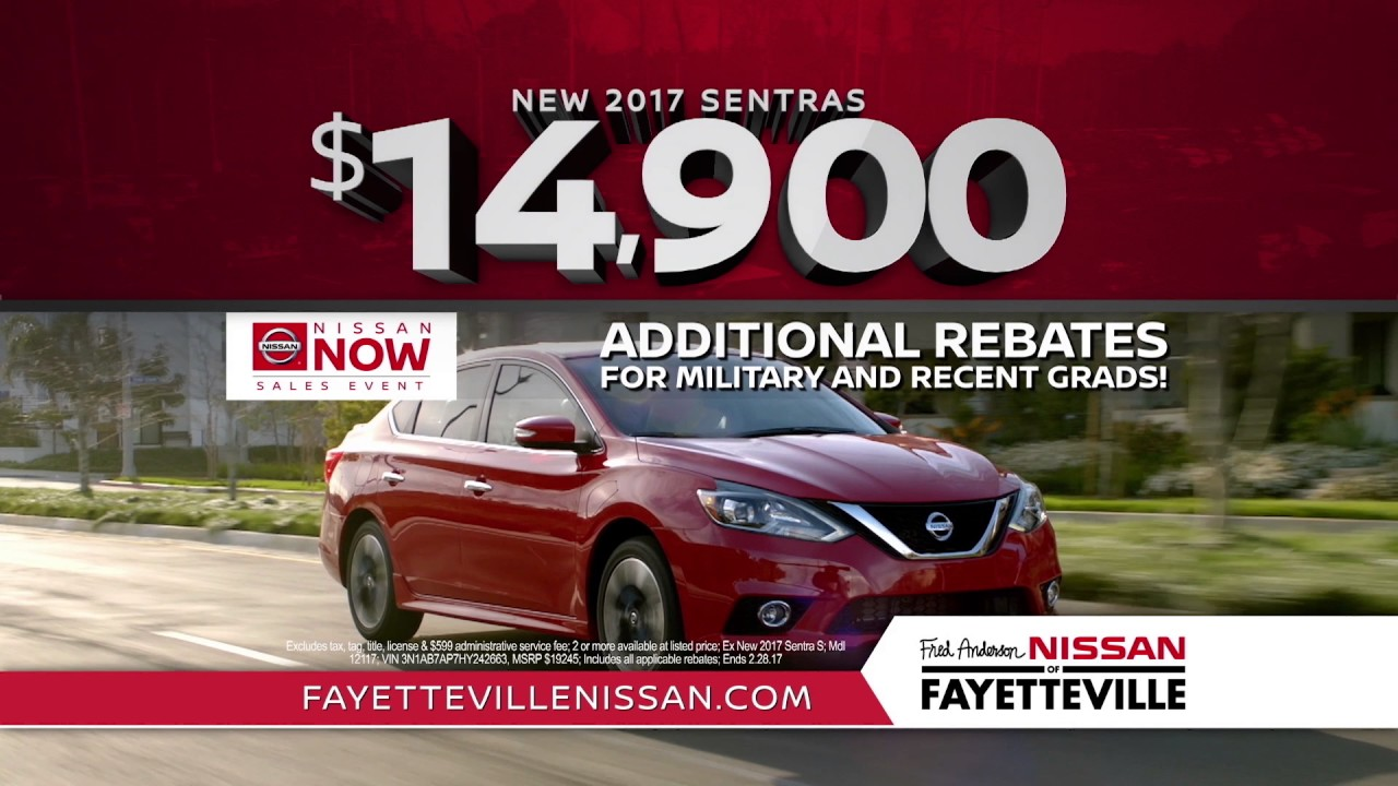 Fred Anderson Nissan of Fayetteville - Want More Nissan Now - YouTube