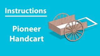 Pioneer Handcart (Instructions) - LDS Paper Toys
