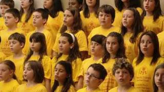 """PSI """"Anthem"""" performed by the Allion Choir, Lester B. Pearson School Board"""