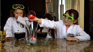 How to Make A Volcano Explosion!  Kids Science Experiments