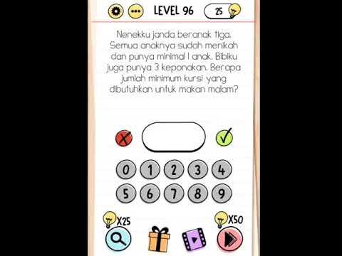 Brain Test 96 97 98 99 100 Kunci Jawaban Brain Test Level 96 100