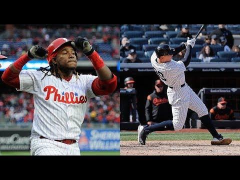 New York Yankees Vs Philadelphia Phillies Highlights