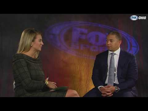 Cavs head coach Tyronn Lue 1-on-1 with Allie Clifton | MEDIA DAY 2017