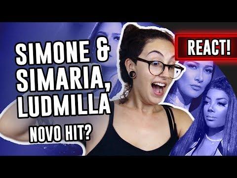 REACT: Simone e Simaria Ludmilla - Qualidade de Vida  Luma Show