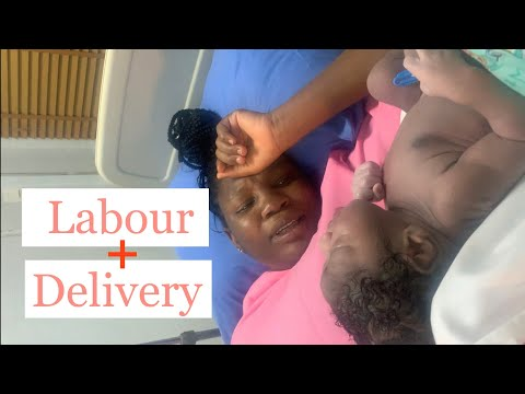 Labour and Delivery Vlog || First Time Mom