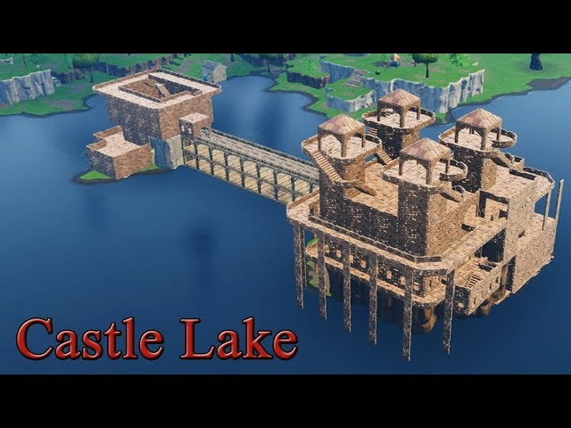 Fortnite Castle Lake Build