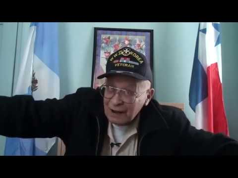Interview with Luis Ruben Rodriguez, Korean War veteran. CCSU Veterans History Project