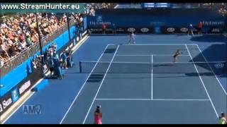 全豪オープンテニス ダブルス1回戦 クルム伊達/デラクア組がフルセット、タイブレークの末 初戦突破!