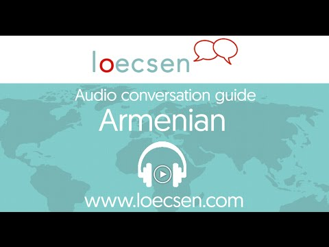 Audio Armenian Courses: 400 basic words and useful phrases for your trip
