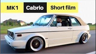 Reza's TURBO Volkswagen Golf MK1 Cabrio | SHORT FILM