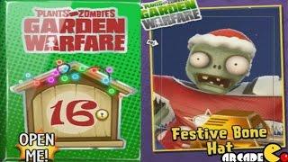 Plants vs Zombies Garden Warfare - Santa Claus Costume Unlocked