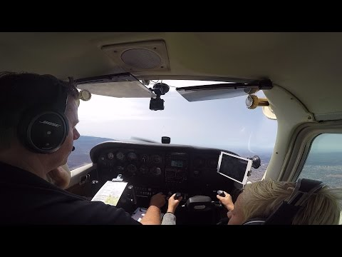 7 Year Old Co Pilot from Palm Springs Airport to Montgomery Executive