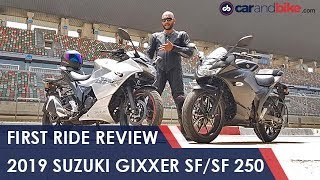 2019 Suzuki Gixxer SF/ SF 250 First Ride | NDTV caradbike