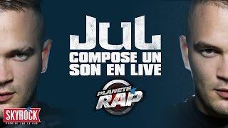 Jul compose un son en live dans Planète Rap !
