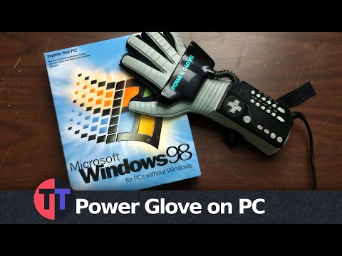 Nintendo Power Glove On Windows PC