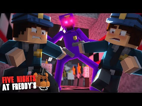 Minecraft: FIVE NIGHTS AT FREDDYS #126 - A LUTA CONTRA O PURPLE GUY GIGANTE!!