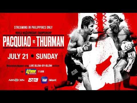 DZMM 630 Audio Stream | Pacquiao vs. Thurman Coverage