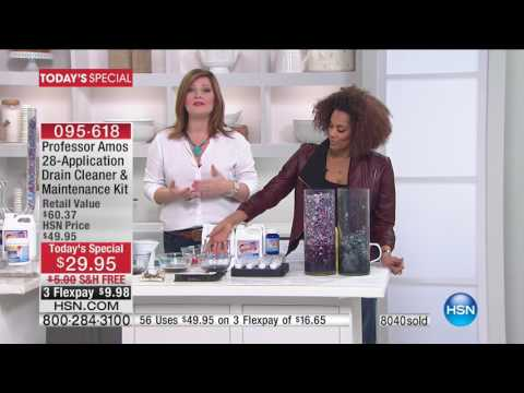 HSN | Cleaning Essentials featuring Professor Amos 02.06.2017 - 12 PM