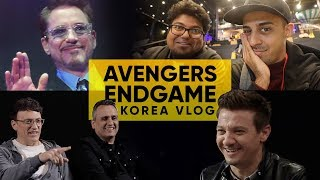 We Met The Avengers | Jordindian VLOG | Avengers Endgame | Korea