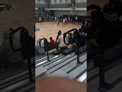 North forest high school basketball  game students vs teachers