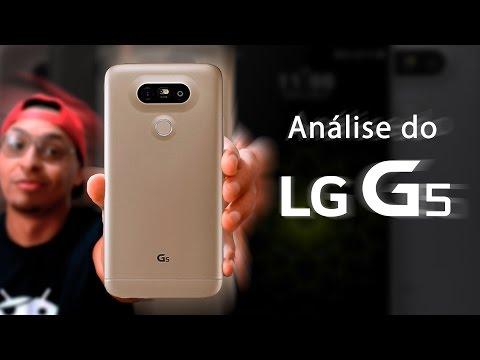 Review (análise) do LG G5 - O TOP da LG