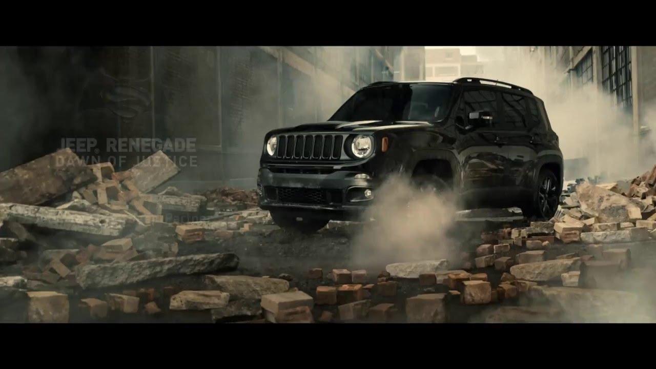 jeep renegade dawn of justice edition batman vs superman youtube. Black Bedroom Furniture Sets. Home Design Ideas