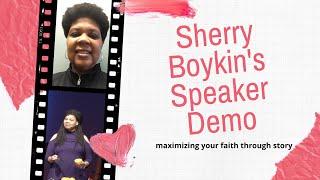 Sherry Boykin - Storyteller