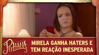 Mirela tem reação inesperada ao ganhar haters   As Aventuras de Poliana thumbnail