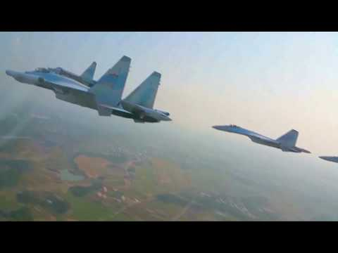 CCTV+ - China Su-35 Multi-Role Fighters South China Sea Joint Combat Patrol [1080p]