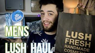Huge Men's Lush Haul & Review