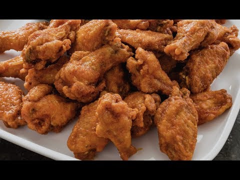fried chicken / chicken wings /crispy wings recipe / double fried - Food At Home
