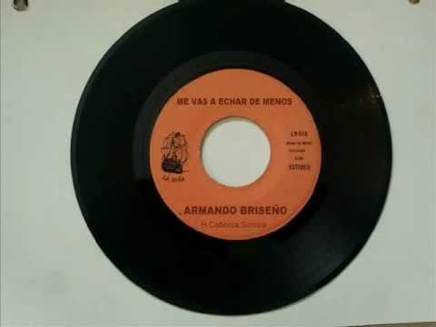Me Vas A Echar De Menos Armando Briseño Youtube