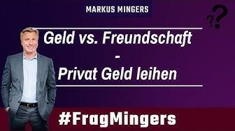 Geld vs. Freundschaft - Privat Geld leihen | #FragMingers