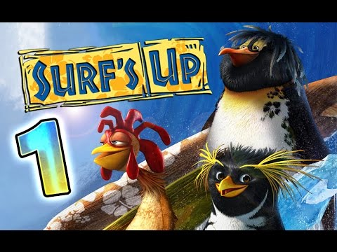 Surf S Up Walkthrough Part 1 Ps3 X360 Wii Ps2 Gcn