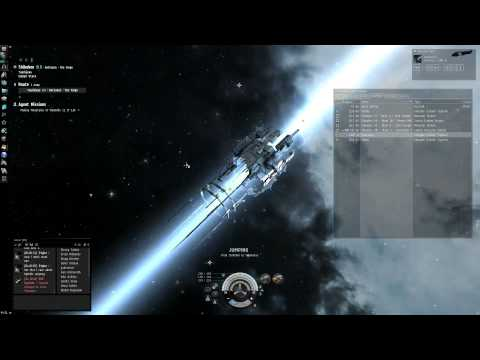 Eve Online Tutorial: Industry Carrer Agent Missions 1 & 2