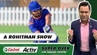 HITMAN on FIRE!   MUMBAI thrash KOLKATA   Castrol Activ Super Over with Aakash Chopra